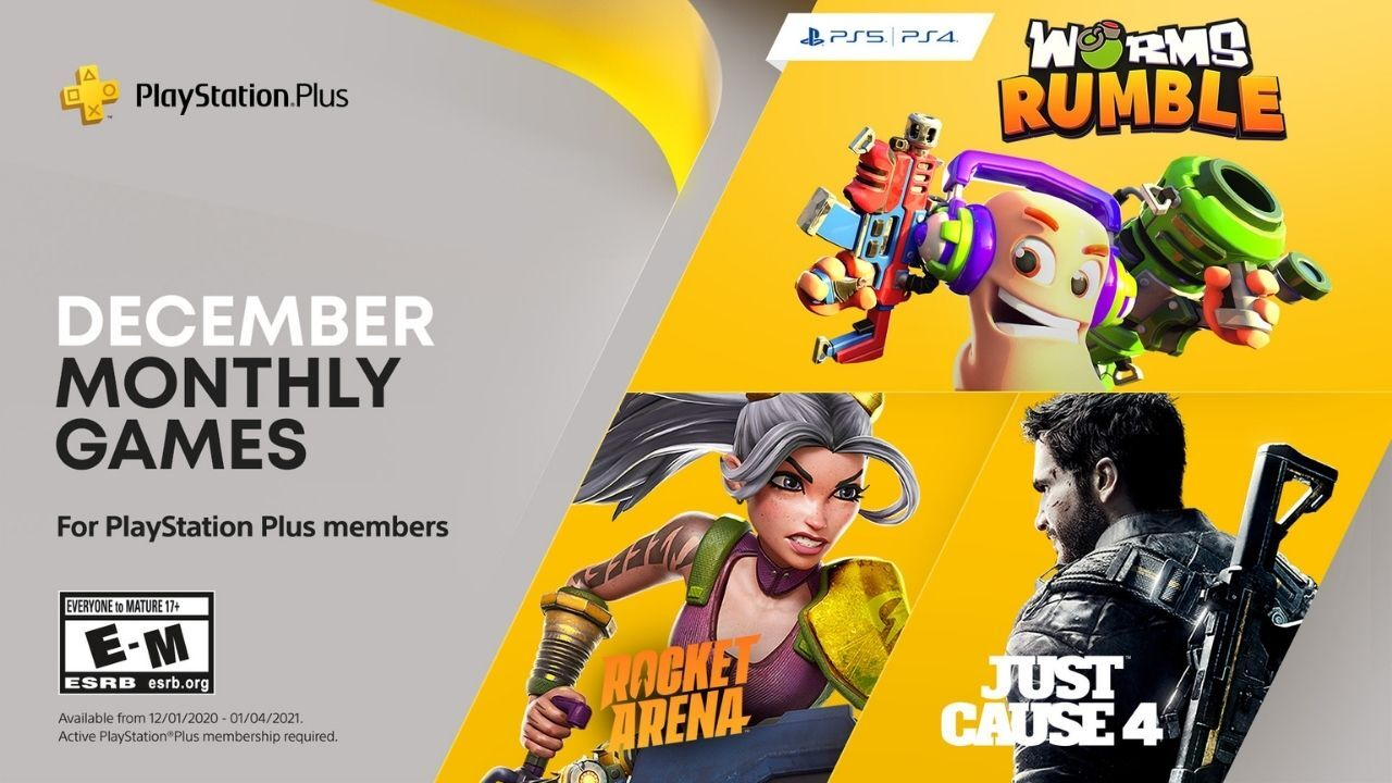 PlayStation Plus hry na prosinec PS Plus