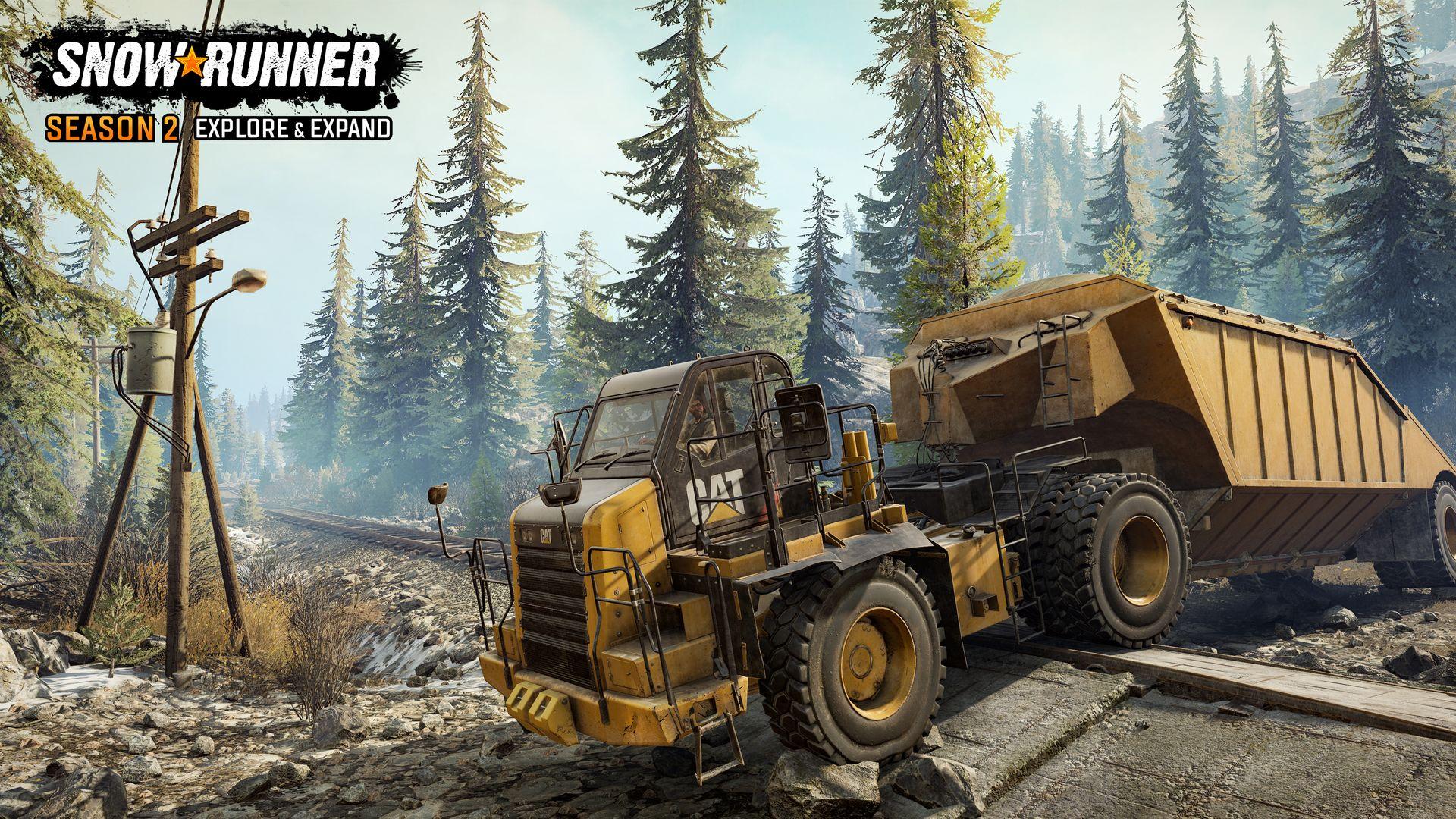 SnowRunner obohatila druhá sezóna dodatečného obsahu SnowRunner 3
