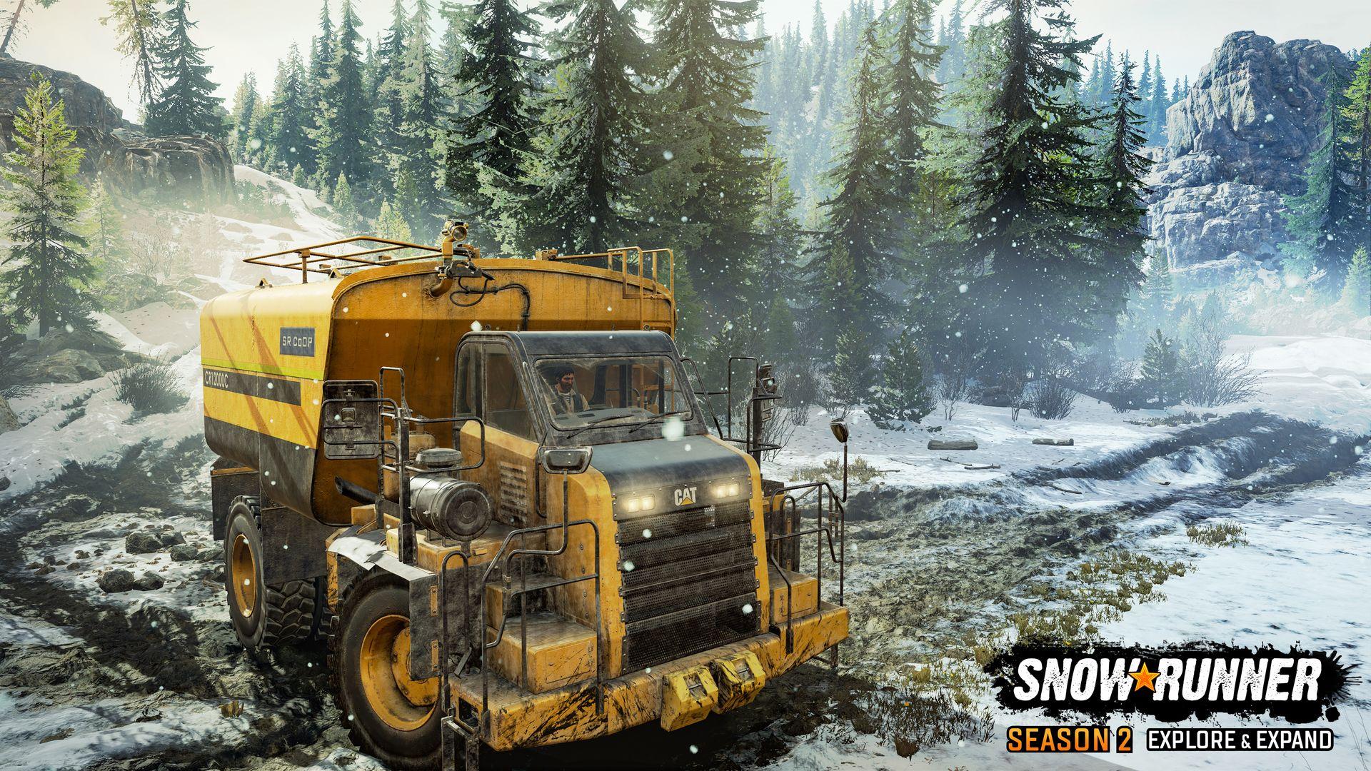 SnowRunner obohatila druhá sezóna dodatečného obsahu SnowRunner