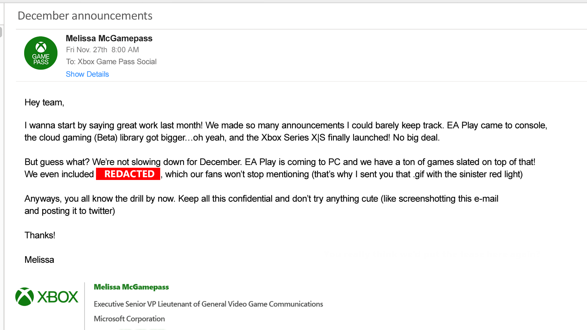 Control bude možná součástí nabídky Game Pass gamepass