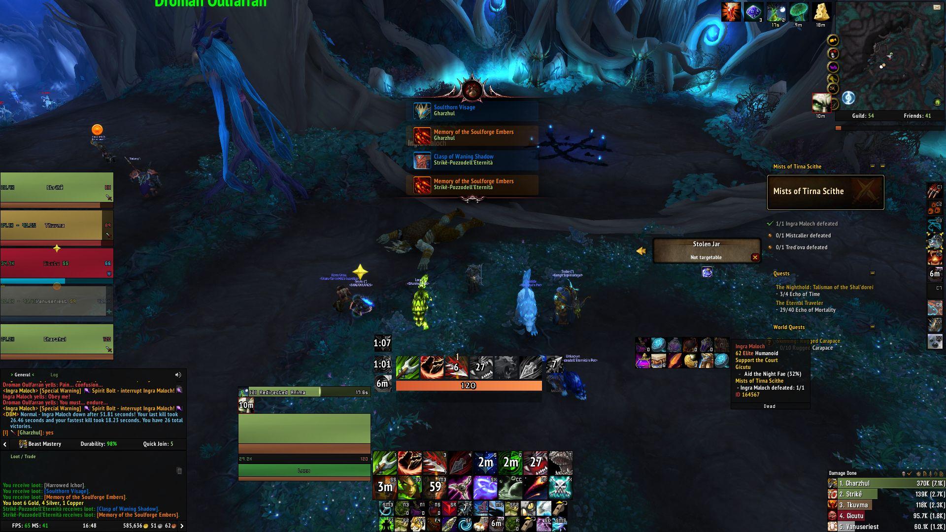 První týden ve World of Warcraft: Shadowlands image023