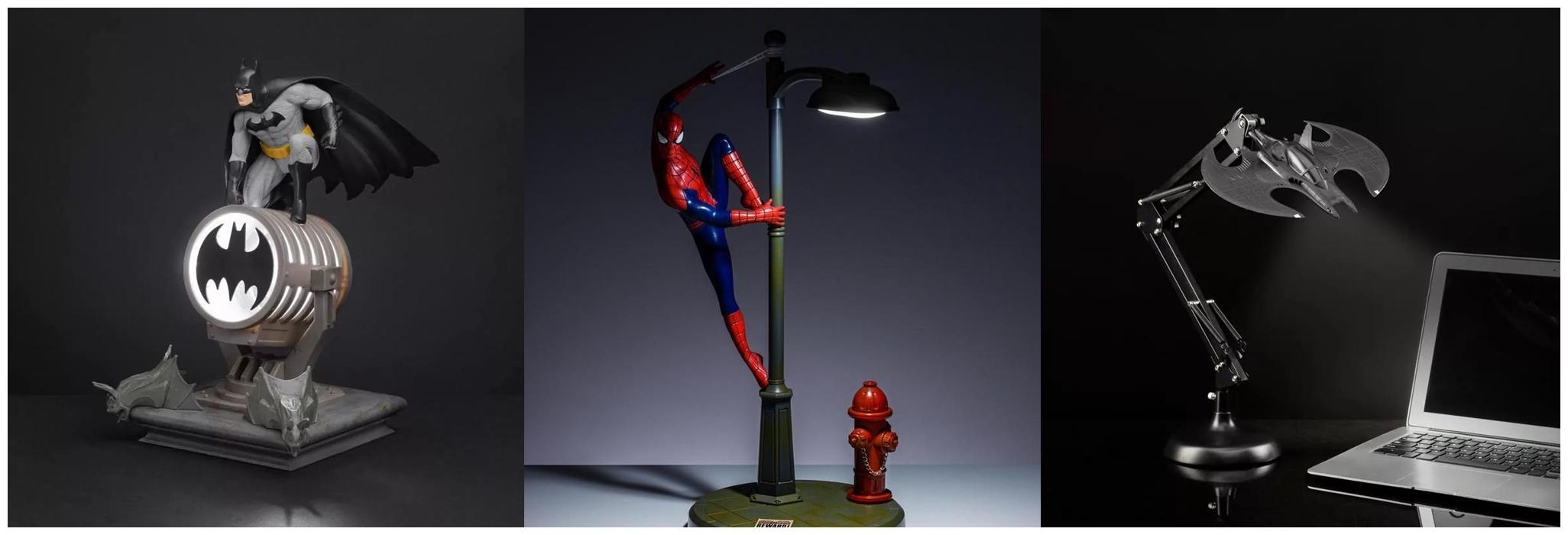Originální lampičky s herními motivy pp6376bm batman figurine lamp lifestyle horz