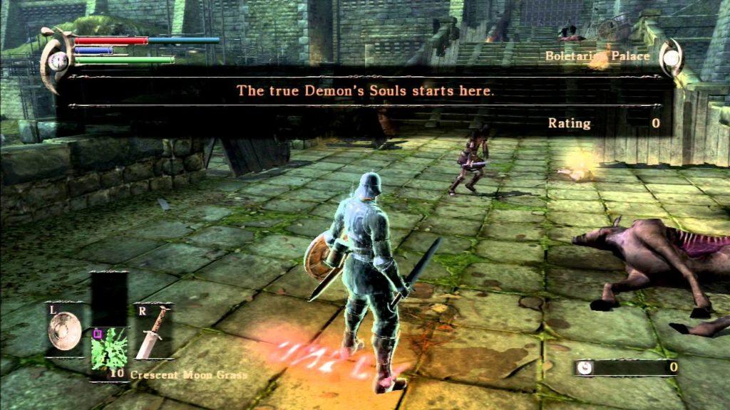 Recenze Demon's Souls true