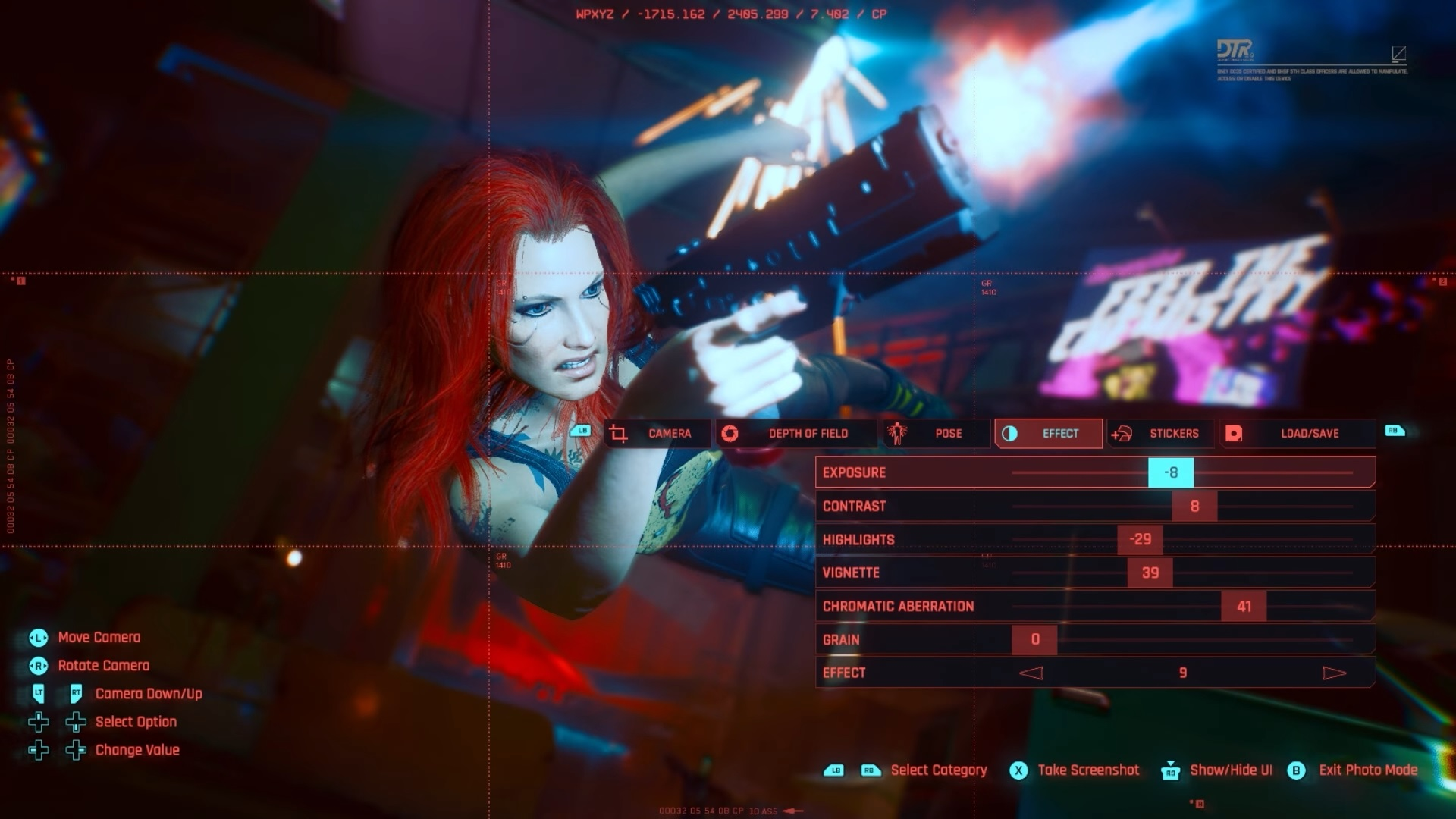 Fotografický režim v Cyberpunk 2077 1 1