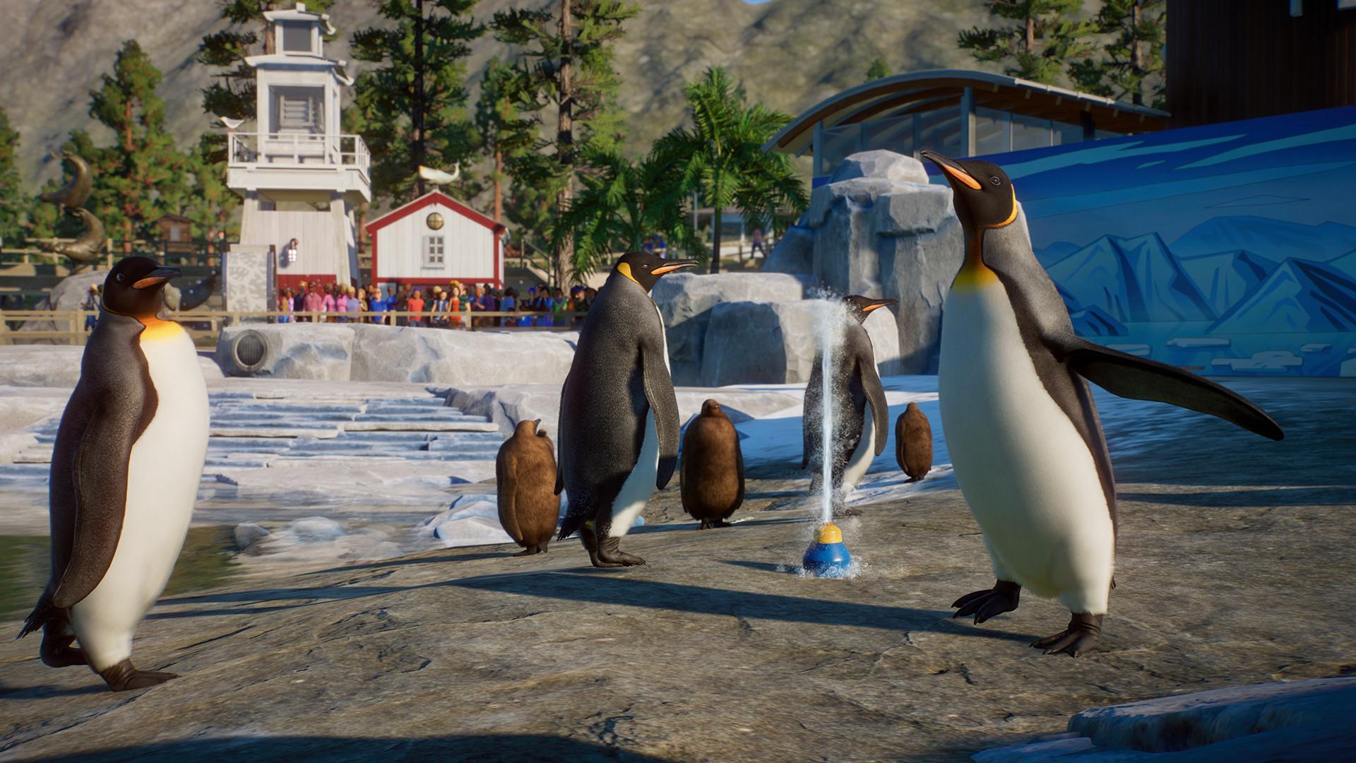 Oznámen vodní balíček do Planet Zoo 1