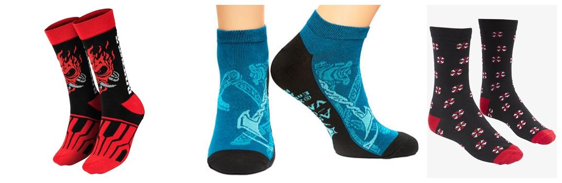 Herní ponožky pod stromek 26040 original horz