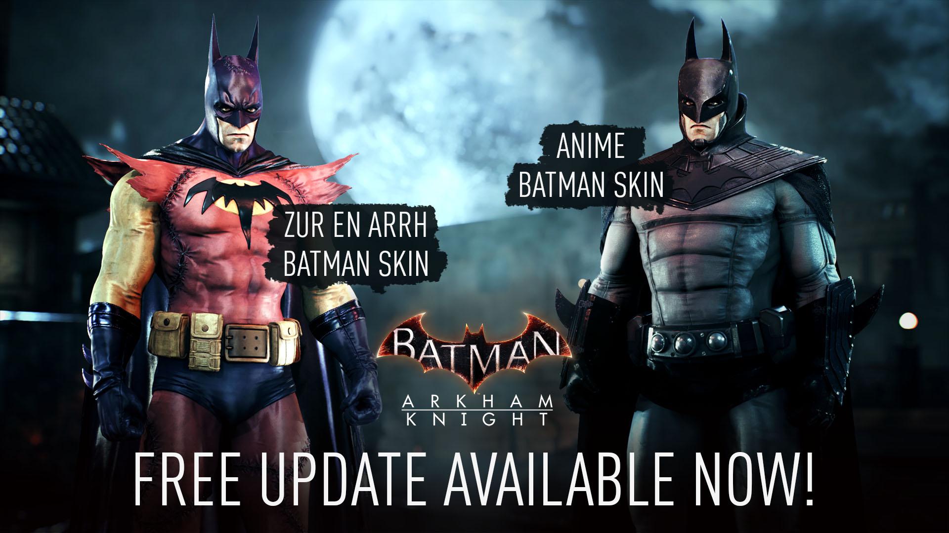 Do Batman: Arkham Knight vyšel bezplatný update Batman