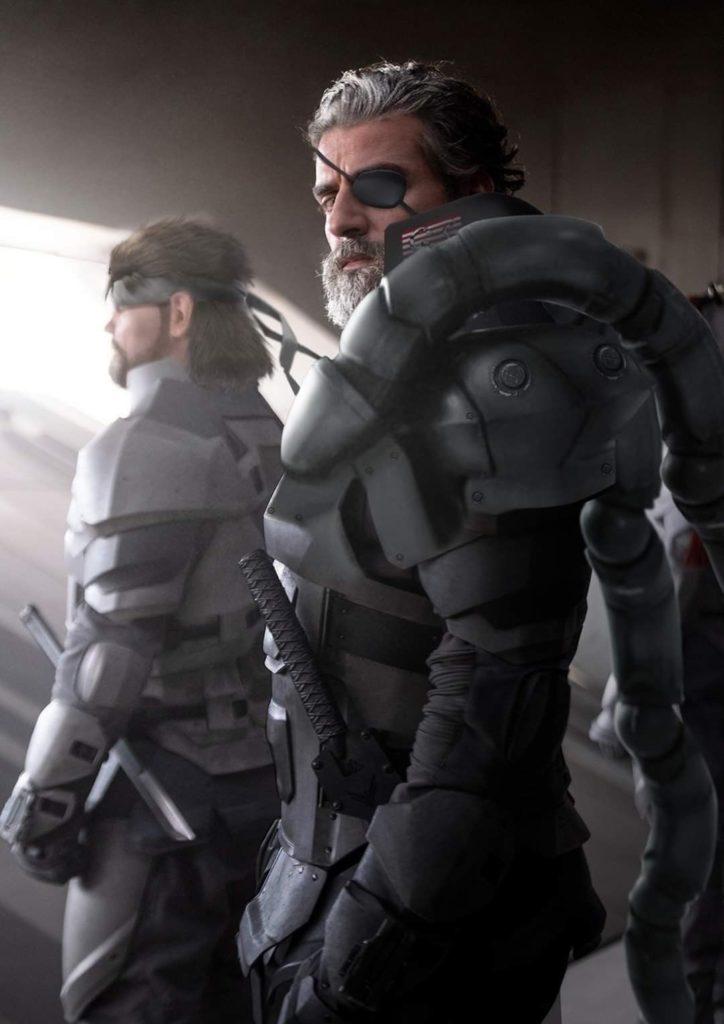Oscar Isaac jako Solid Snake ve filmu Metal Gear EobWbqAXIAArMl0