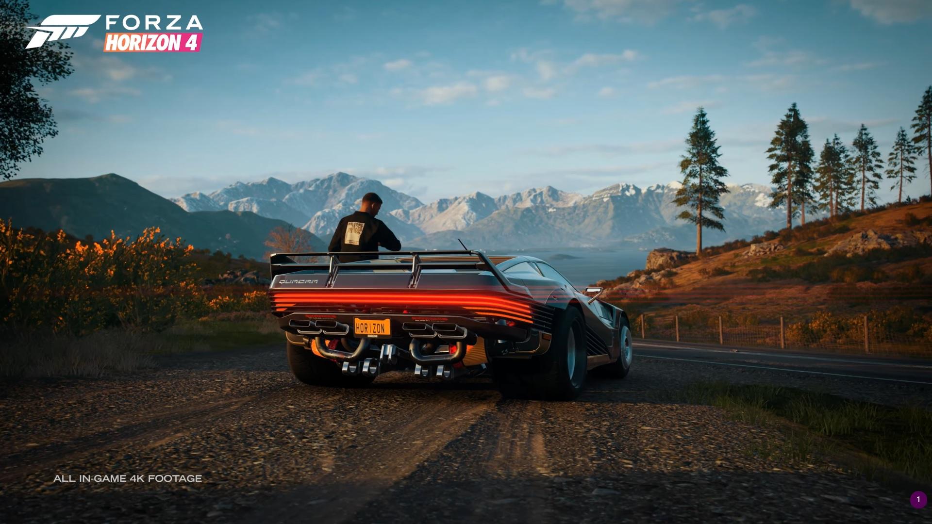 Zajezděte si v autě ze Cyberpunku 2077 ve Forza Horizon 4 Forza CP