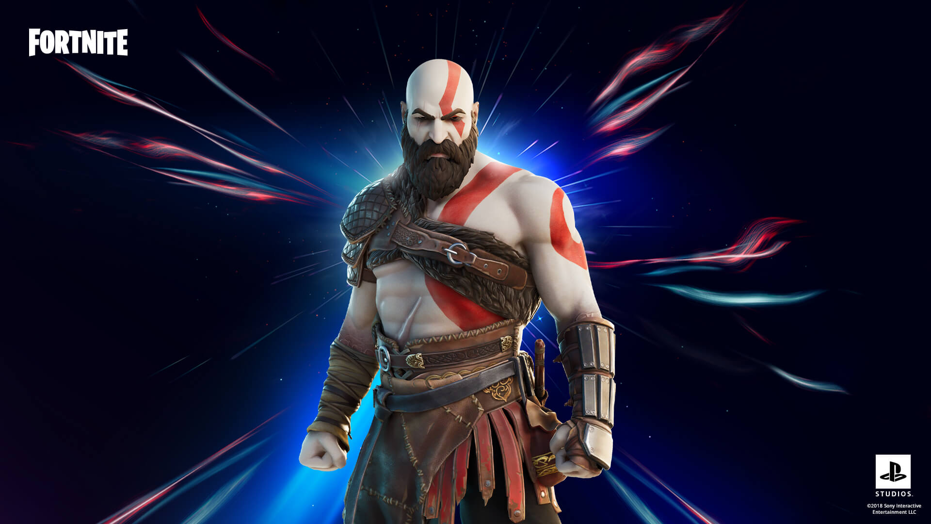 Kratos dorazil do Fortnite KRatos