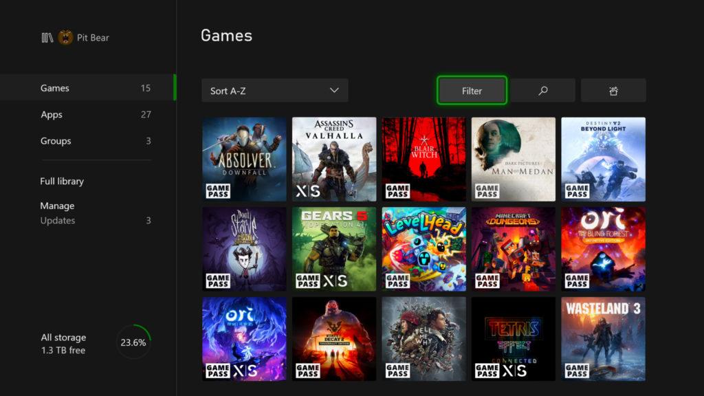 Novinky v update firmware pro konzole Xbox MyGamesApps 02