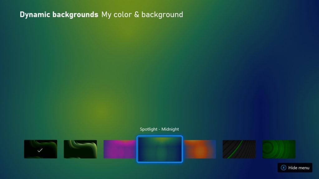 Novinky v update firmware pro konzole Xbox Picker UI