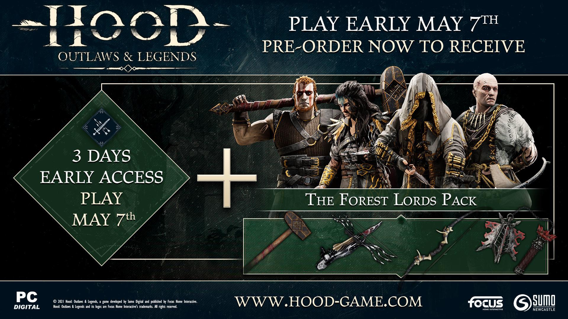 Multiplayerové Hood: Outlaws & Legends má datum vydání Preorder