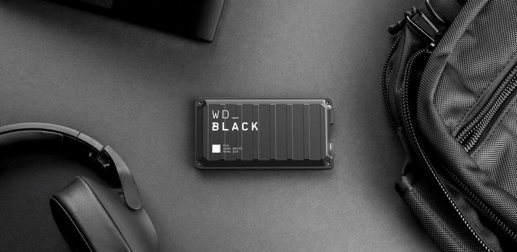 HW Test: WD_BLACK P50 Game Drive SSD WD Black P50 TopOrtho LightOn