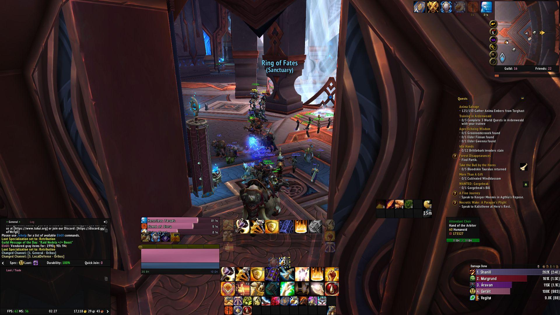 Recenze World of Warcraft: Shadowlands WoWScrnShot 120120 022744