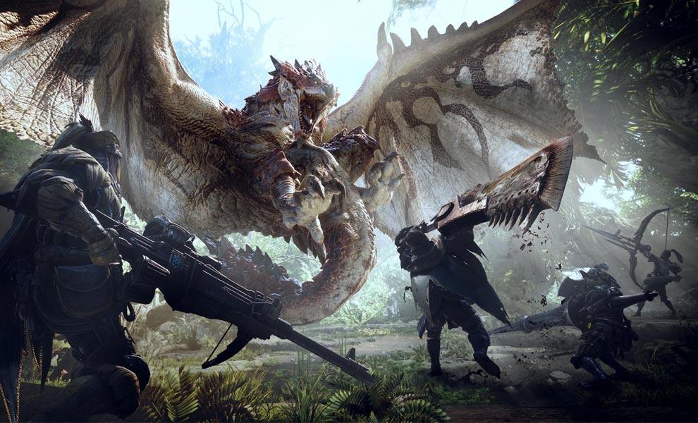Steam odhalil nejprodávanější hry roku 2020 monster hunter world 1