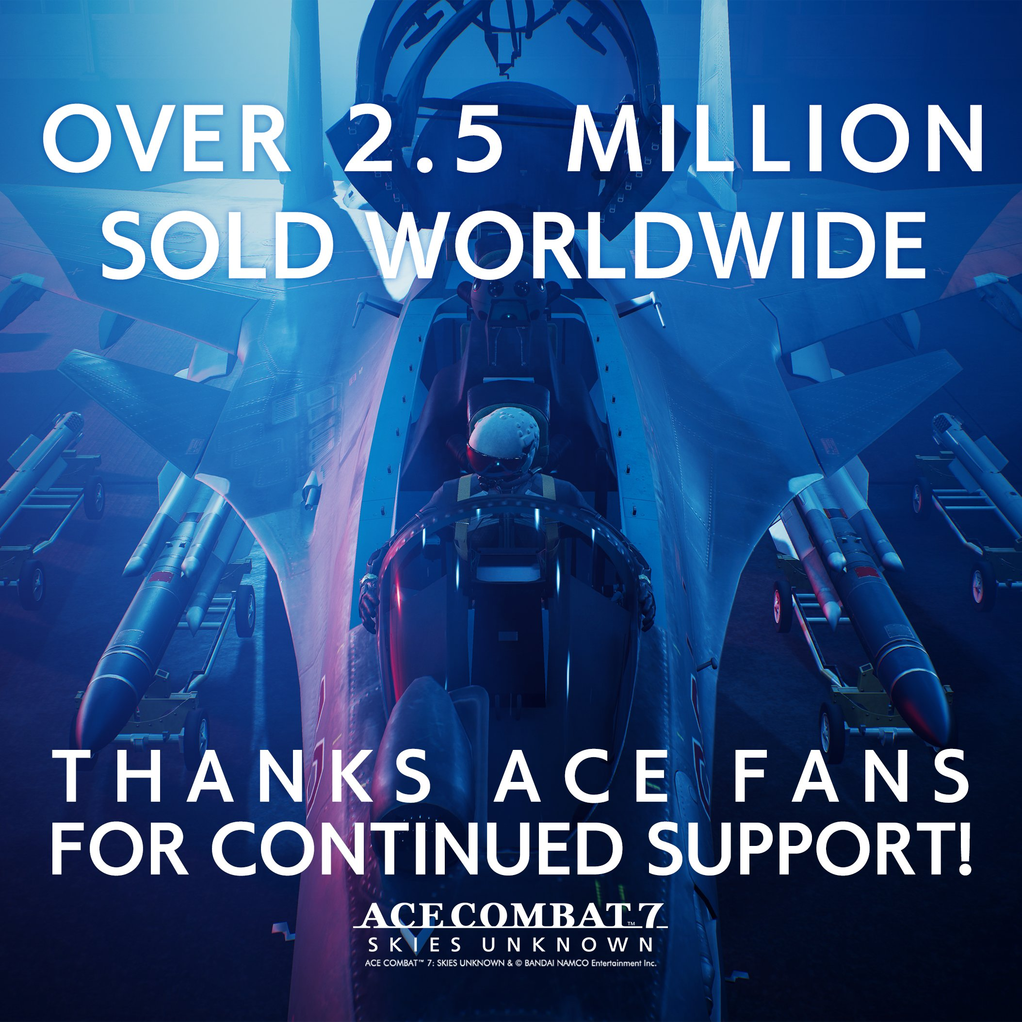 Ace Combat 7: Skies Unknown se prodává velice dobře 1 15