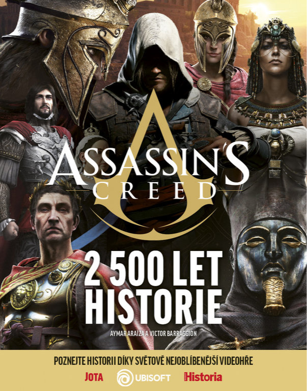 Recenze knihy Assassin's Creed – 2 500 let historie 27085 original
