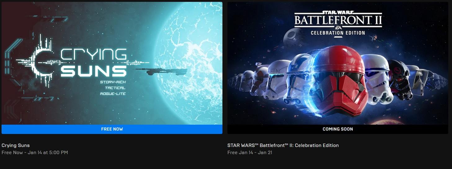Příští týden na EGS ve znamení Hvězdných válek Epic