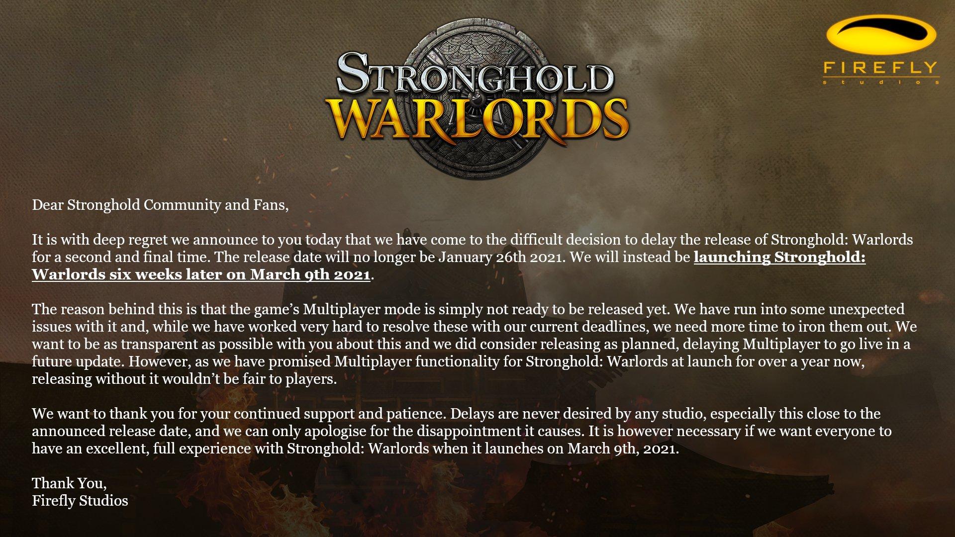 Stronghold: Warlords odložena Erdp9bkXYAIUMbg