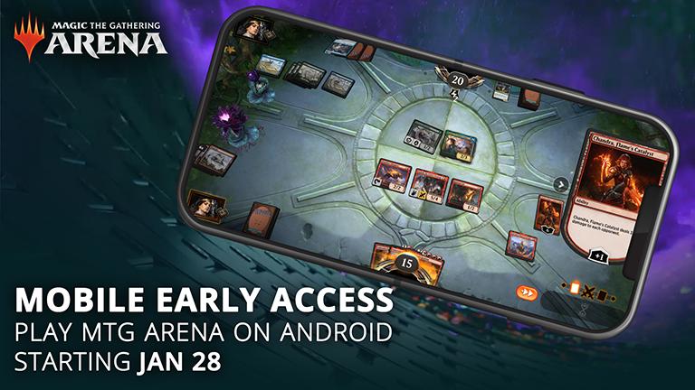 Magic: The Gathering Arena brzy na Androidu MTG