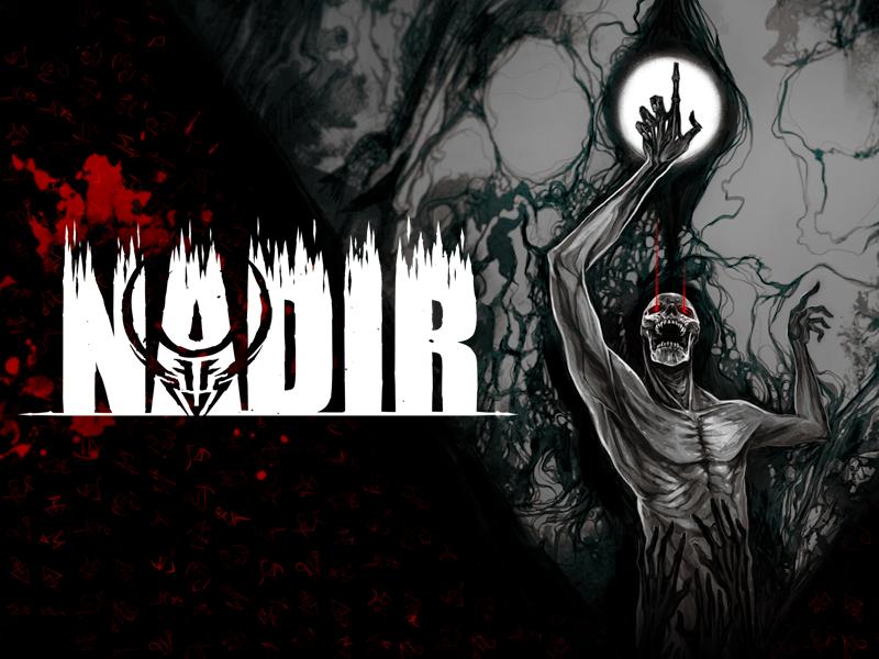Odhaleno roguelike JRPG Nadir Nadir Key Art