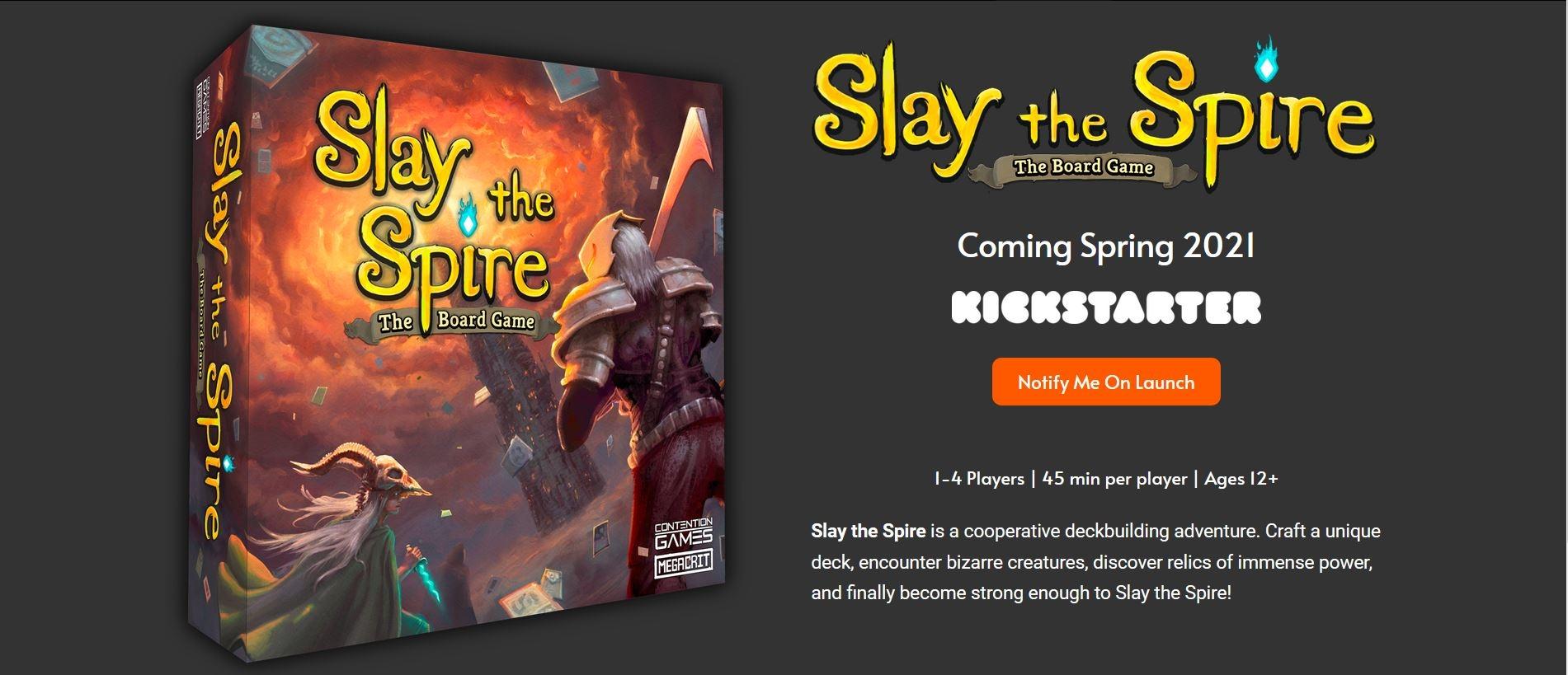 Slay the Spire dostane deskovkovou podobu Slay The Spire deskovka