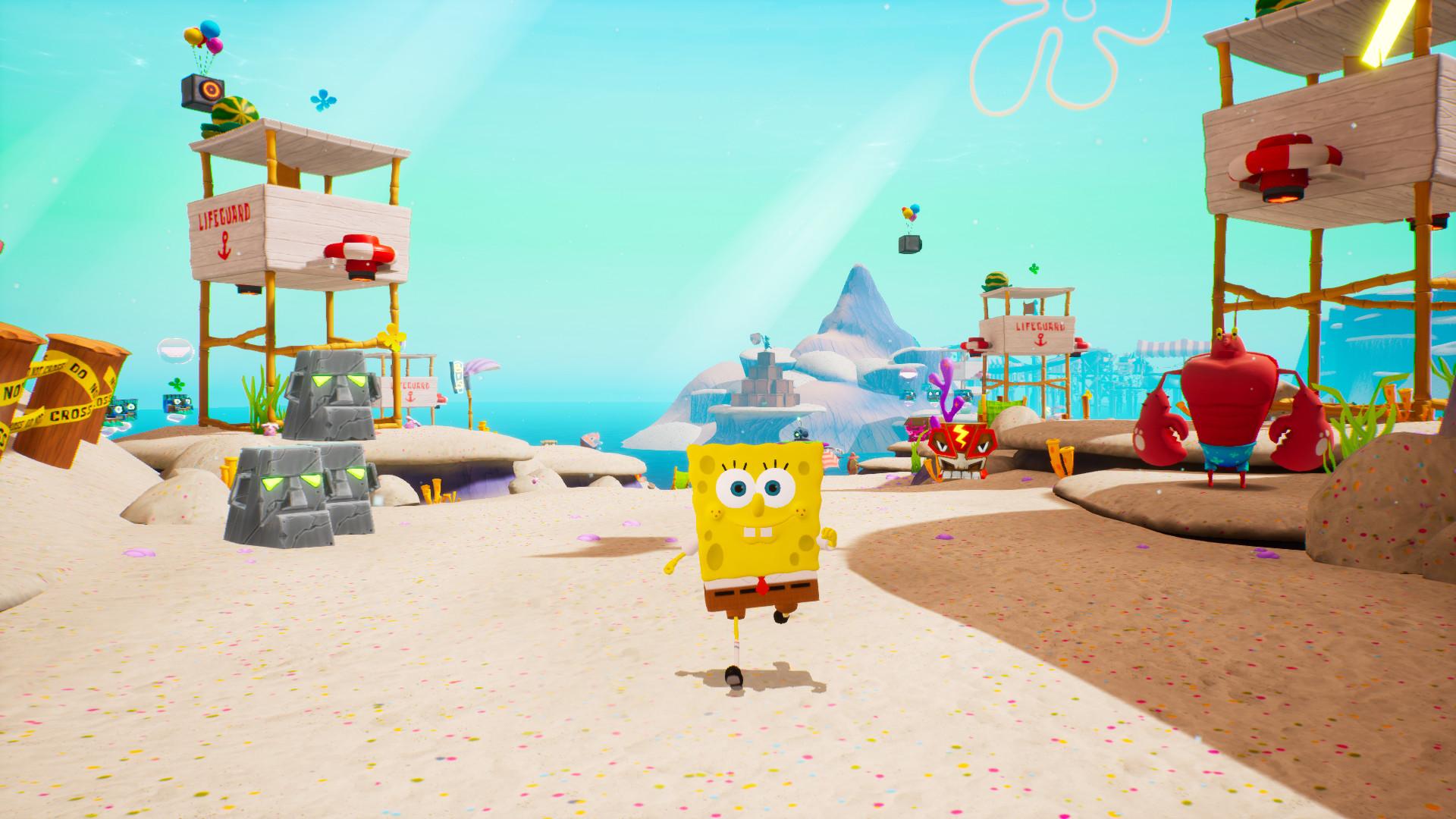 Předělávka skákačky se SpongeBobem se prodává dobře Spongebob 1
