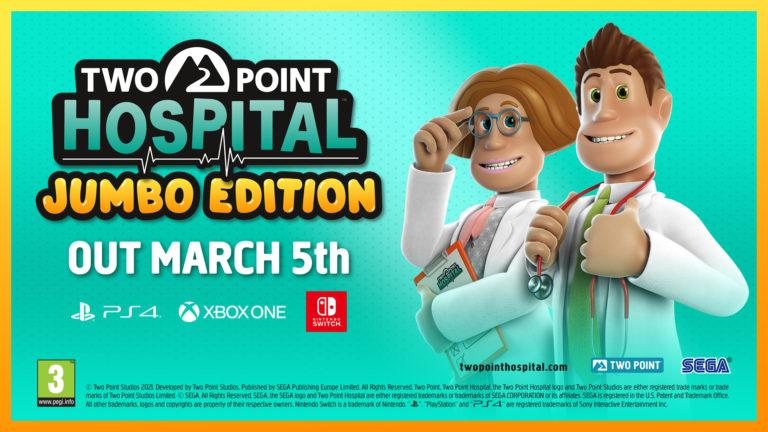 Two Point Hospital dostane na konzolích JUMBO edici Two Point 1