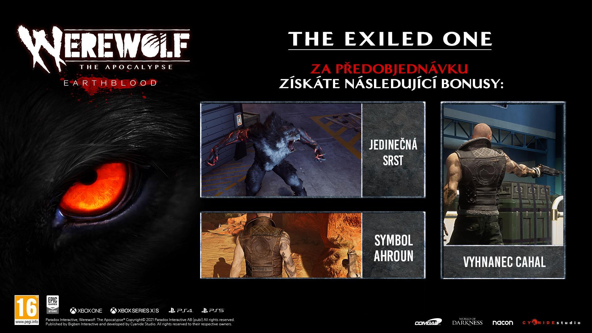 Metal při boji ve Werewolf: The Apocalypse - Earthblood WW Beautyshot Preorder CZ