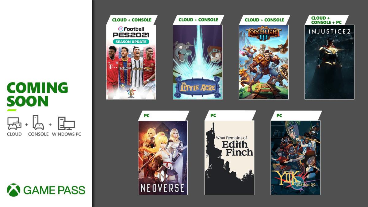 Lednové hry v Xbox Game Pass game pass