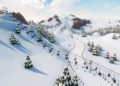 Včerstvě vydaném tycoonu Snowtopia si postavíte vlastní lyžařský areál steam 1