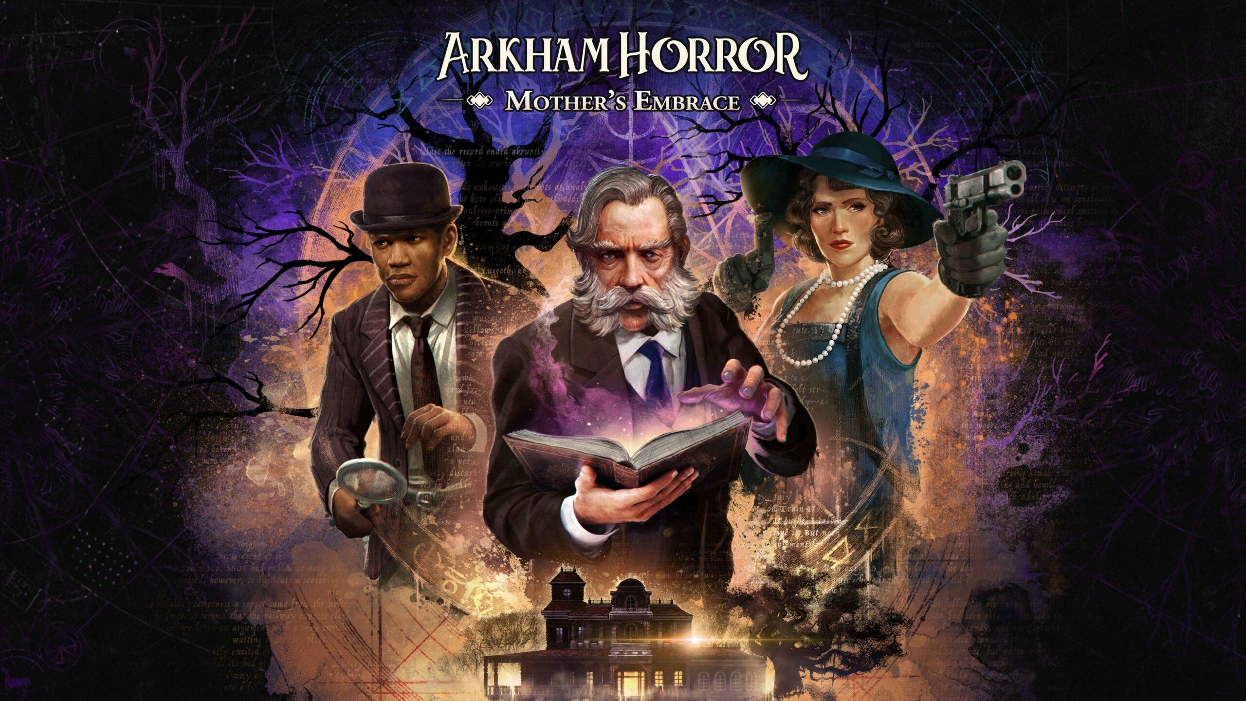 Záběry z hraní Arkham Horror: Mother's Embrace Arkham Horror