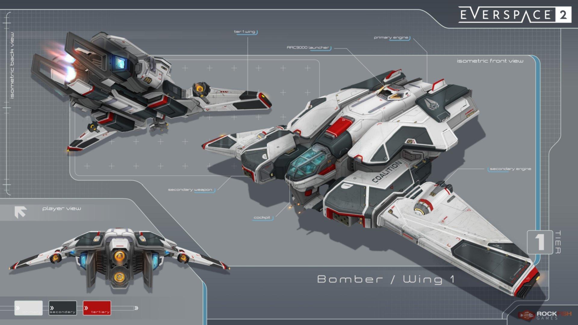 Everspace 2 představuje plán chystaných aktualizací Bomber