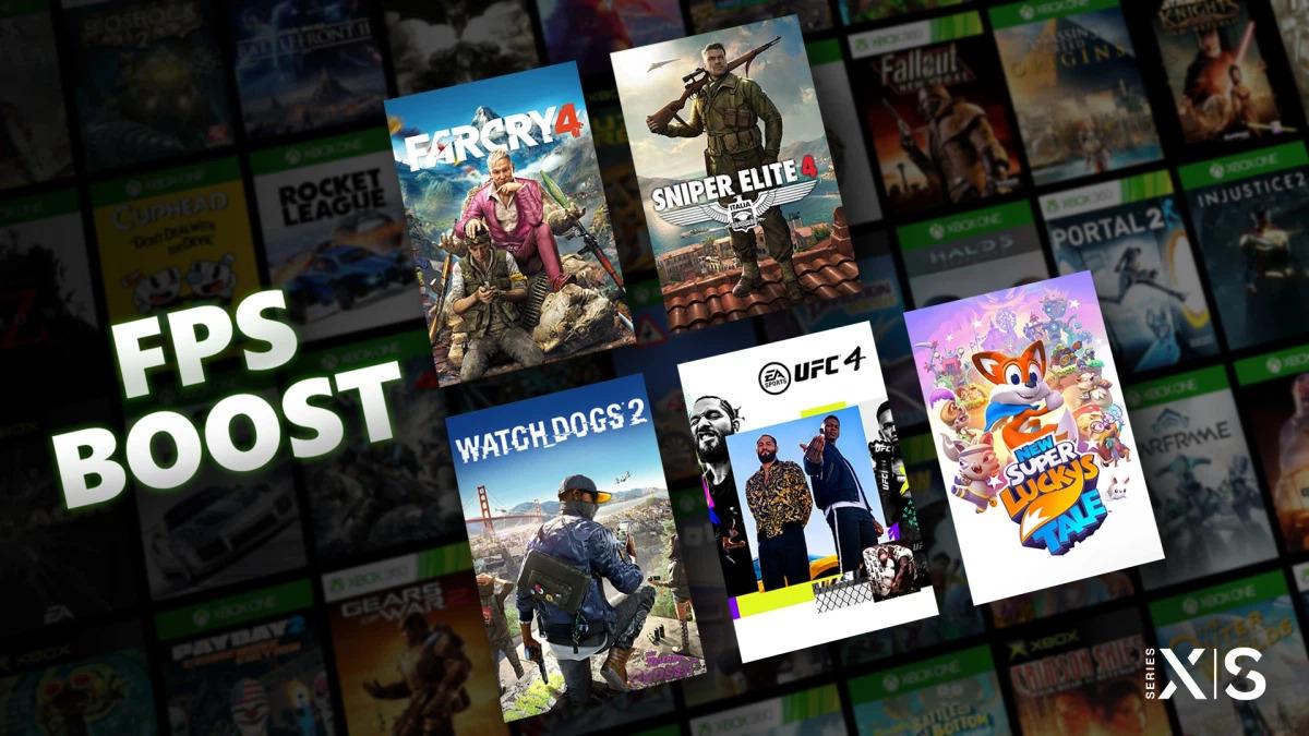 Xbox Series X/S nabídne lepší FPS u starších her FPS