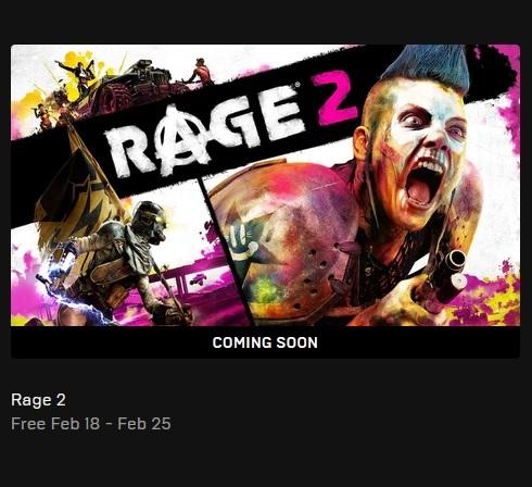 Příští týden si můžete zdarma vyzvednout Rage 2 Rage2