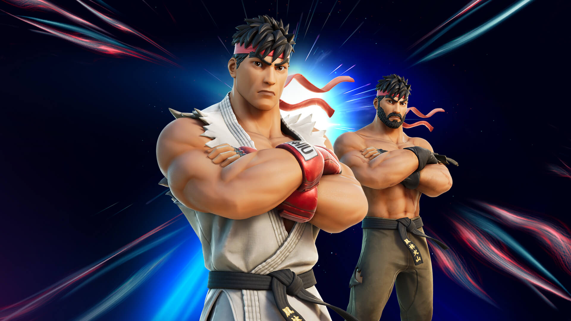 Fortnite obohatily postavy ze Street Fightera Ryu