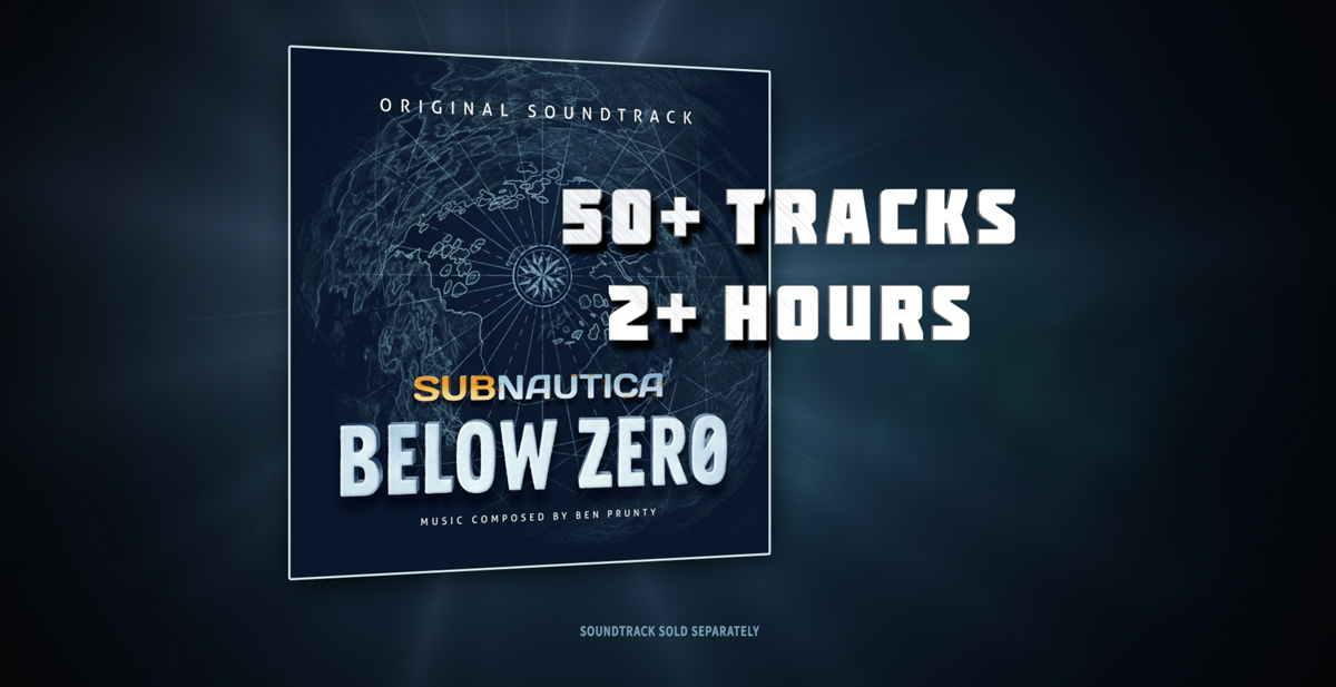 Subnautica: Below Zero má datum vydání Soundtrack