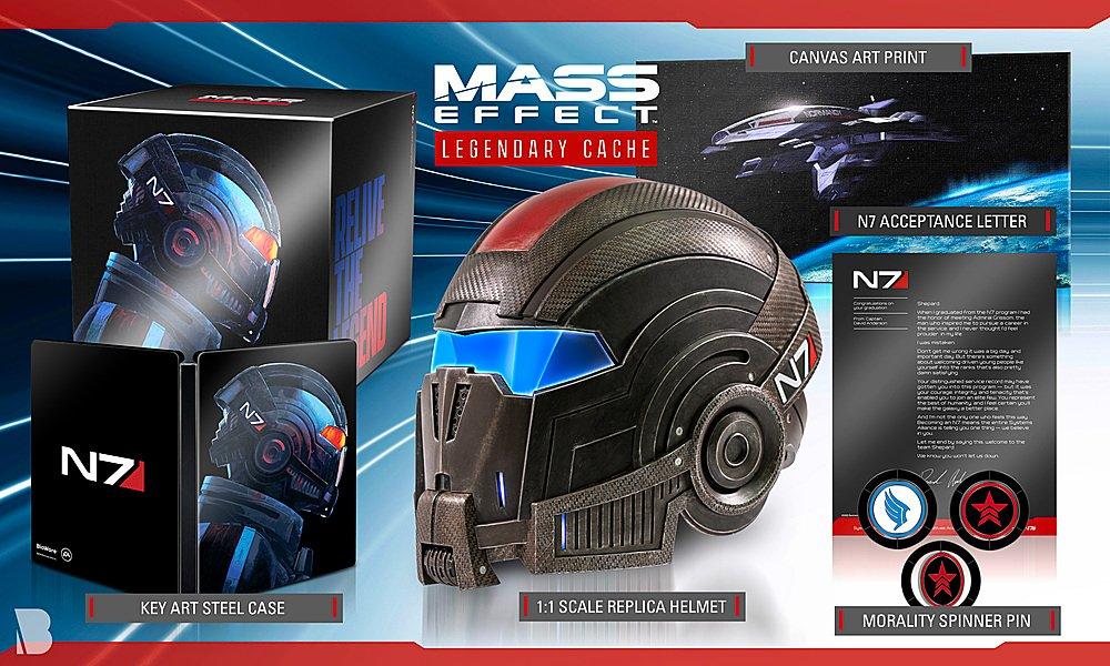 Mass Effect: Legendary Edition - upoutávka, datum a další novinky mass effect legendary cache