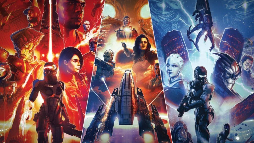 Mass Effect: Legendary Edition - upoutávka, datum a další novinky me le header image