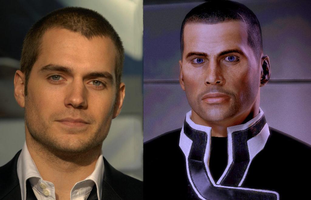 Henry Cavill láká na nový projekt, indicie vedou k Mass Effectu shepard