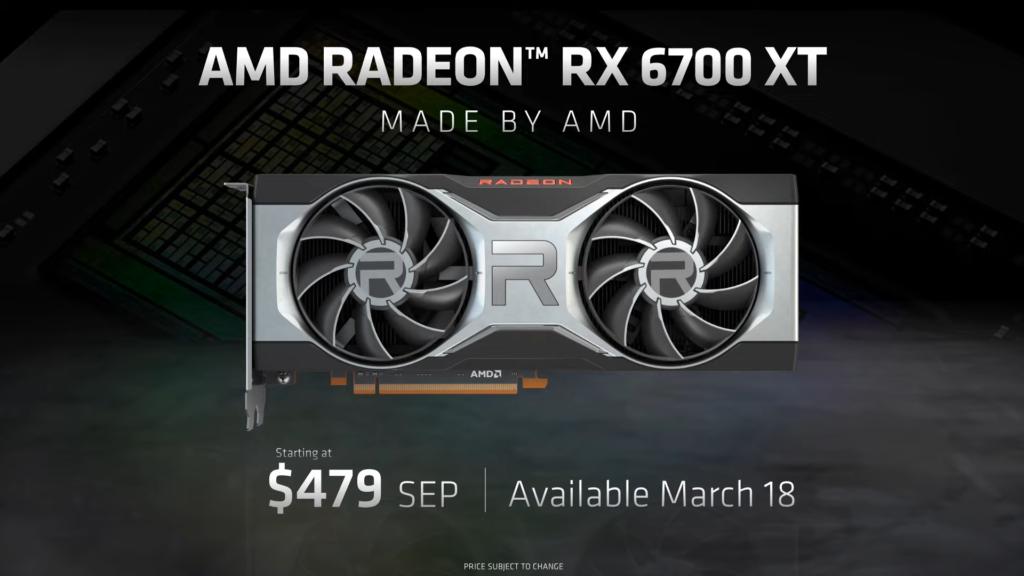 AMD představilo Radeon RX 6700 XT 2021.03.03 17.23