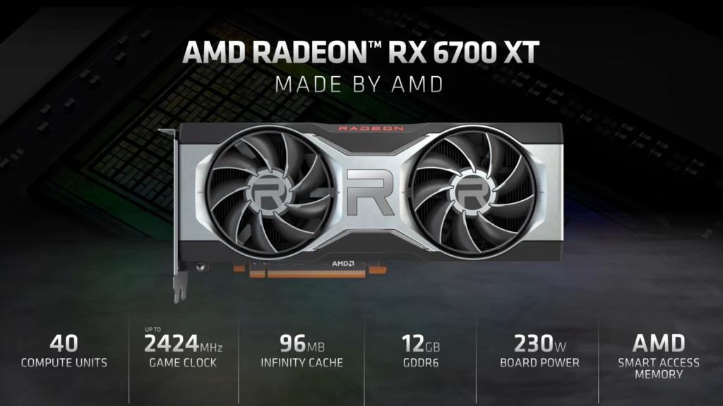AMD představilo Radeon RX 6700 XT 2021.03.03 17.27