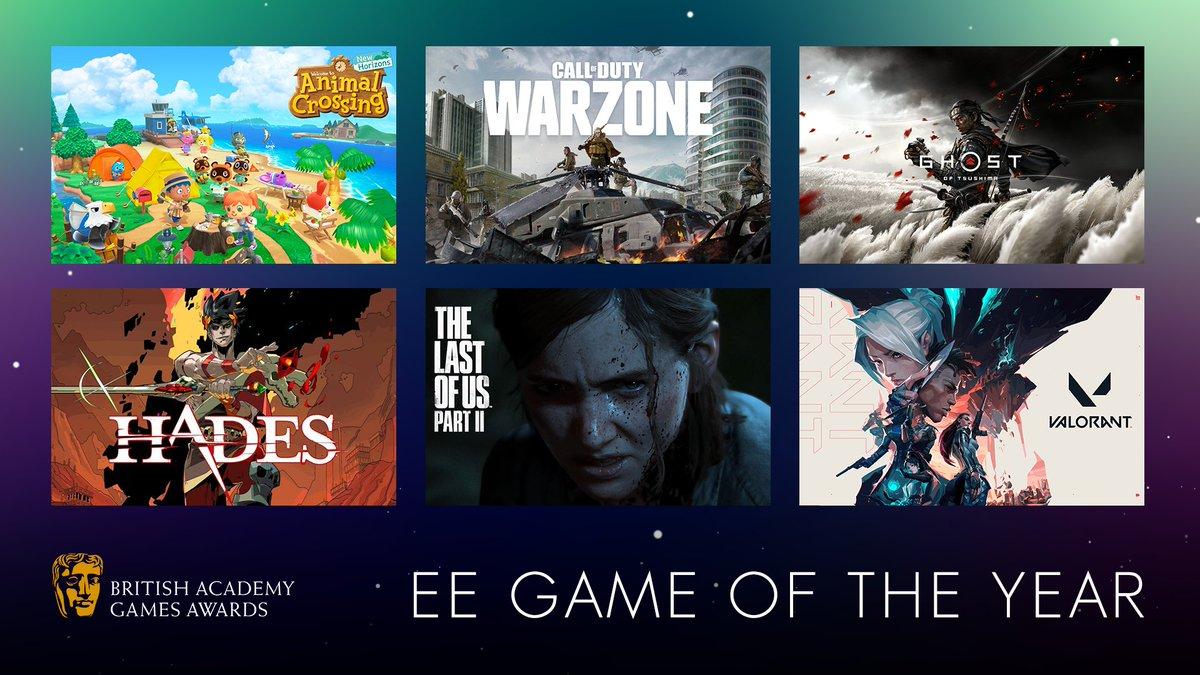 The Last of Us Part II dominuje nominacím na ceny BAFTA BAFTA