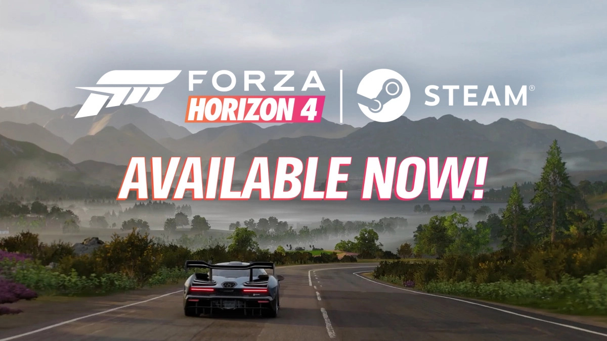 Forza Horizon 4 dostupná na Steamu Forza