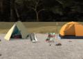 Přehled novinek z Japonska 9. týdne Laid Back Camp Virtual Lake Motosu and Fumoto Campsite 2021 03 01 21 004