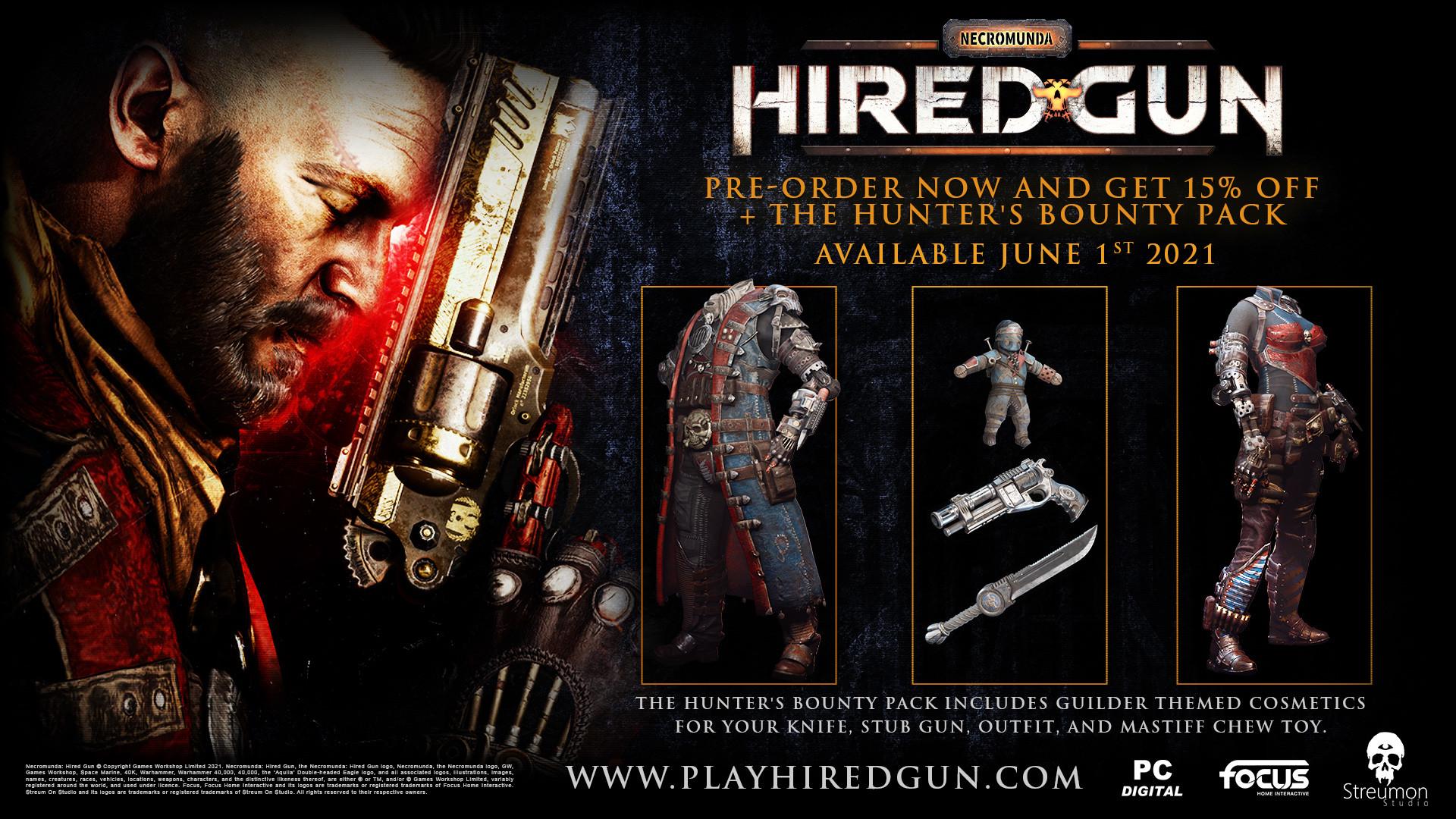 Představena střílečka Necromunda: Hired Gun Preorder 2