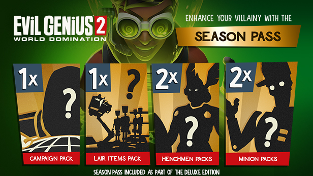 Vyšla strategie Evil Genius 2: World Domination Season Pass