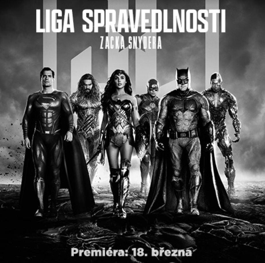 Dechberoucí druhá upoutávka na film Liga Spravedlnosti Zacka Snydera lscz