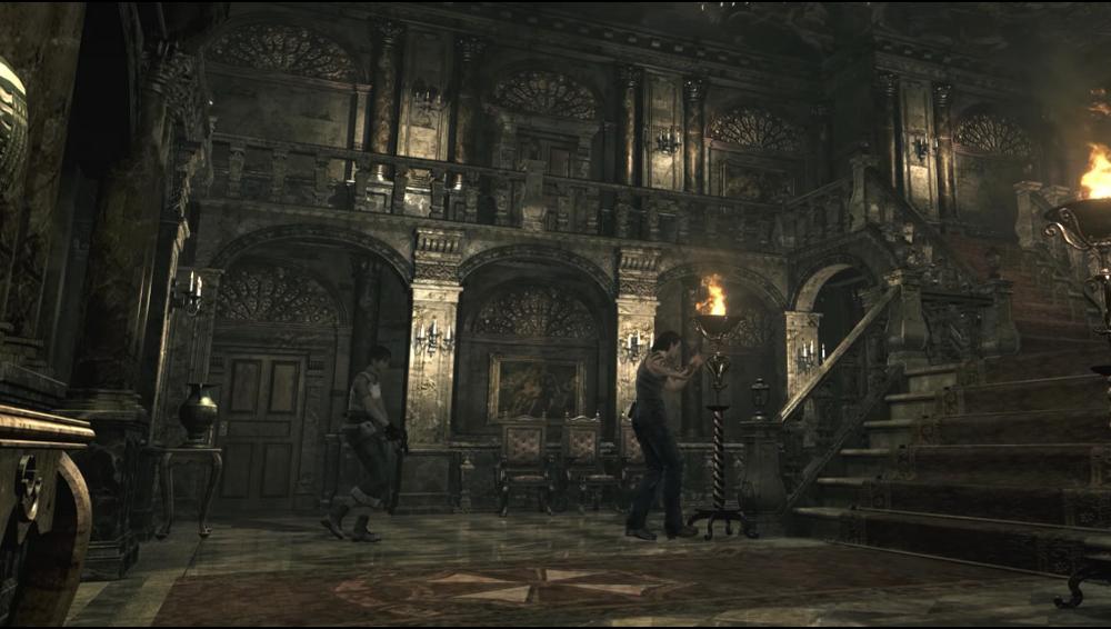 Kompletní příběh série Resident Evil, část první school